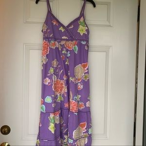 •H&M LOGG• Girl's Floral Maxi Dress - Size 14